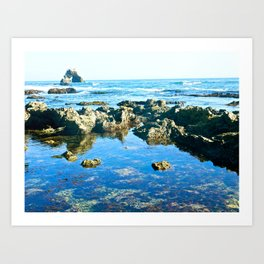 Corona Del Mar, California  Art Print