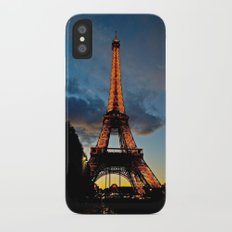 Lighting the Tower iPhone X Slim Case