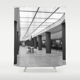 Tube-Station Brandenburg Gate - Berlin Shower Curtain