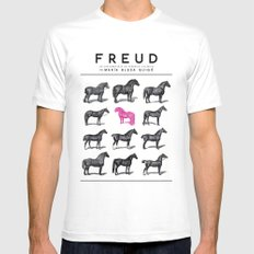FREUD White SMALL Mens Fitted Tee