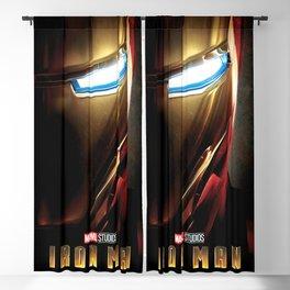 (Iron)(Man) Blackout Curtain