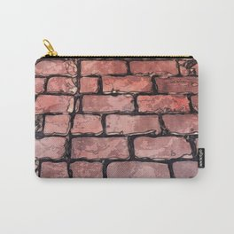Vintage Brick Street Carry-All Pouch
