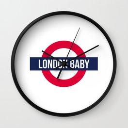 London baby - subway sign souvenir Wall Clock