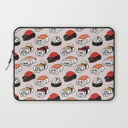 Sushi Bichon Frise Laptop Sleeve
