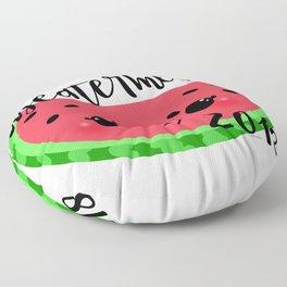Meatermelon 2018 Floor Pillow