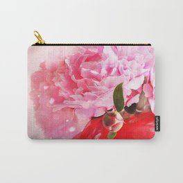 Pretty Pink Peonies :) Carry-All Pouch