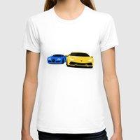 lamborghini T-shirts featuring Lamborghini & Bugatti by Szilárd A Legjobb