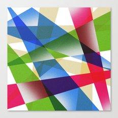 Geometric Fractal Prism Canvas Print