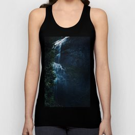 She is shy and mystic and mysterious Unisex Tank Top