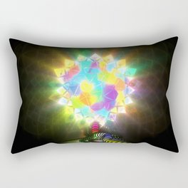ELECTRIC STAINED GLASS Rectangular Pillow