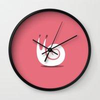 snail Wall Clocks featuring SNAIL by Seokhyun Shim