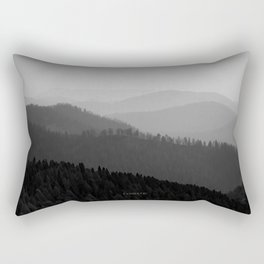 Come to the Hills Rectangular Pillow