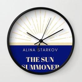 Alina Starkov - The Sun Sommoner Wall Clock