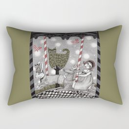 A is for Alice Rectangular Pillow