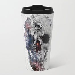 Floral Skull 2 Travel Mug