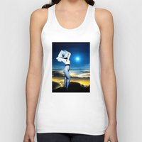celestial Tank Tops featuring Celestial by Danielle Tanimura