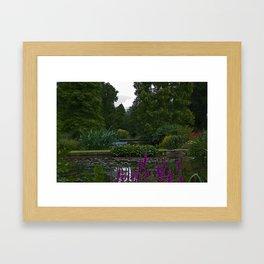Beth Chattos Garden Framed Art Print