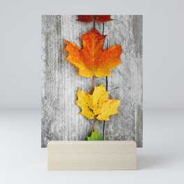 autumn color Mini Art Print