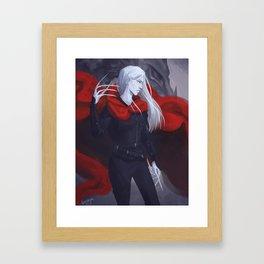 Ironteeth Witch Framed Art Print