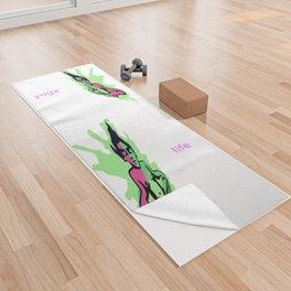 Yogi Yoga Towel