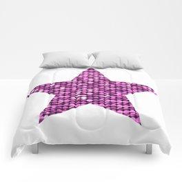 Sparkling Star,pink Comforters