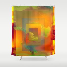GOLDEN SLUMBERS (once there was a way to get back homeward...) Shower Curtain
