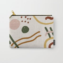 Abstraction. Series: Oil Paint Smears. Culinary fantasy. Breakfast. Carry-All Pouch