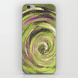 Spiral nature iPhone Skin