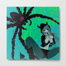 Big Black Toys: acid ver. Metal Print
