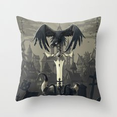 Dark Times Throw Pillow