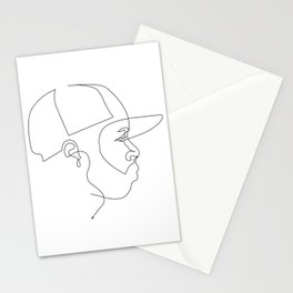 One Line For Dilla Stationery Cards