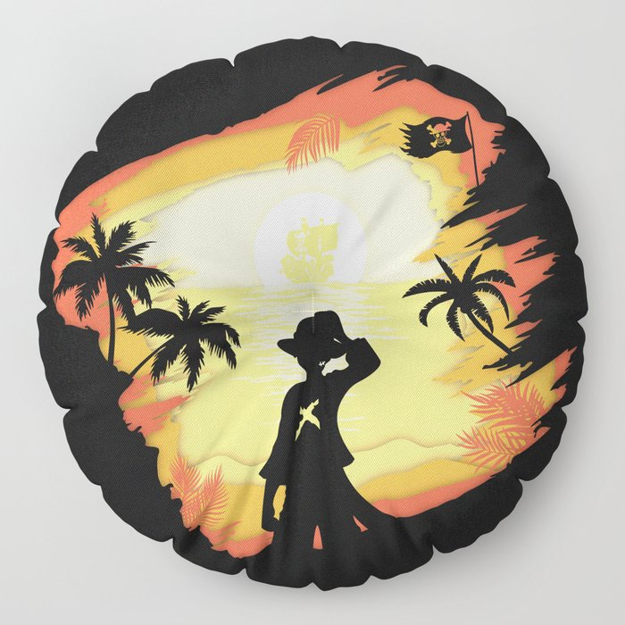 The Pirate King Floor Pillow