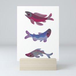 Salmon Mini Art Print