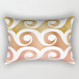 Mixed Metallic Waves Rectangular Pillow