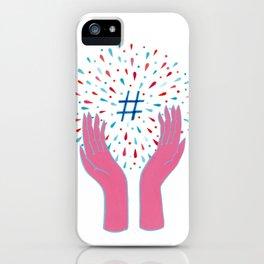 Hashtag iPhone Case