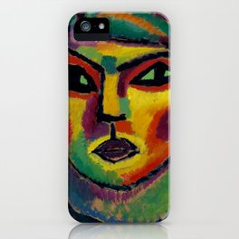 "Alexej von Jawlensky ""Reife - Maturity"" 1912 iPhone Case"