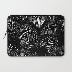 black stripes chaos Laptop Sleeve