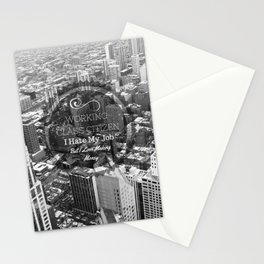 Working Class Citizen Stationery Cards