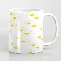 breakfast Mugs featuring Breakfast by Alisa Joy