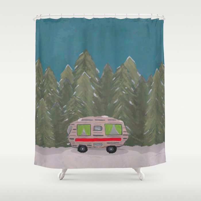 Dream Home Shower Curtain By Donutsandcoffee