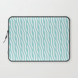 Abstract geometric zigzag pattern in limpet shell Laptop Sleeve