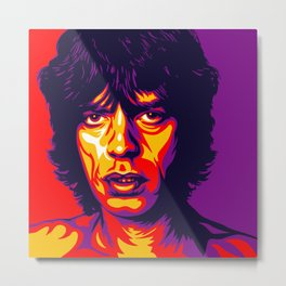 Mick Metal Print