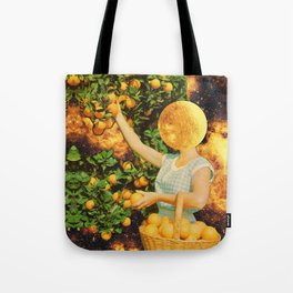 Space fruit Tote Bag
