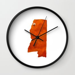 Mississip Wall Clock