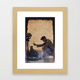 The Marine's Prayer Framed Art Print