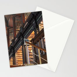 Trinity College Library Long Room Dublin, Ireland color photography / photographs Stationery Cards