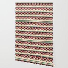 Ethnic African Pattern Wallpaper