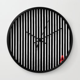 Stripes with and A Wall Clock