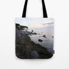 Jasmund Bay - Sunset - Isle Ruegen Tote Bag