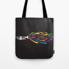A Trumpet Tote Bag